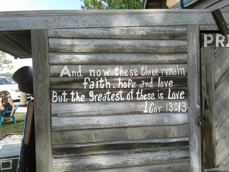Faith, Hope, and Love in Chincoteague