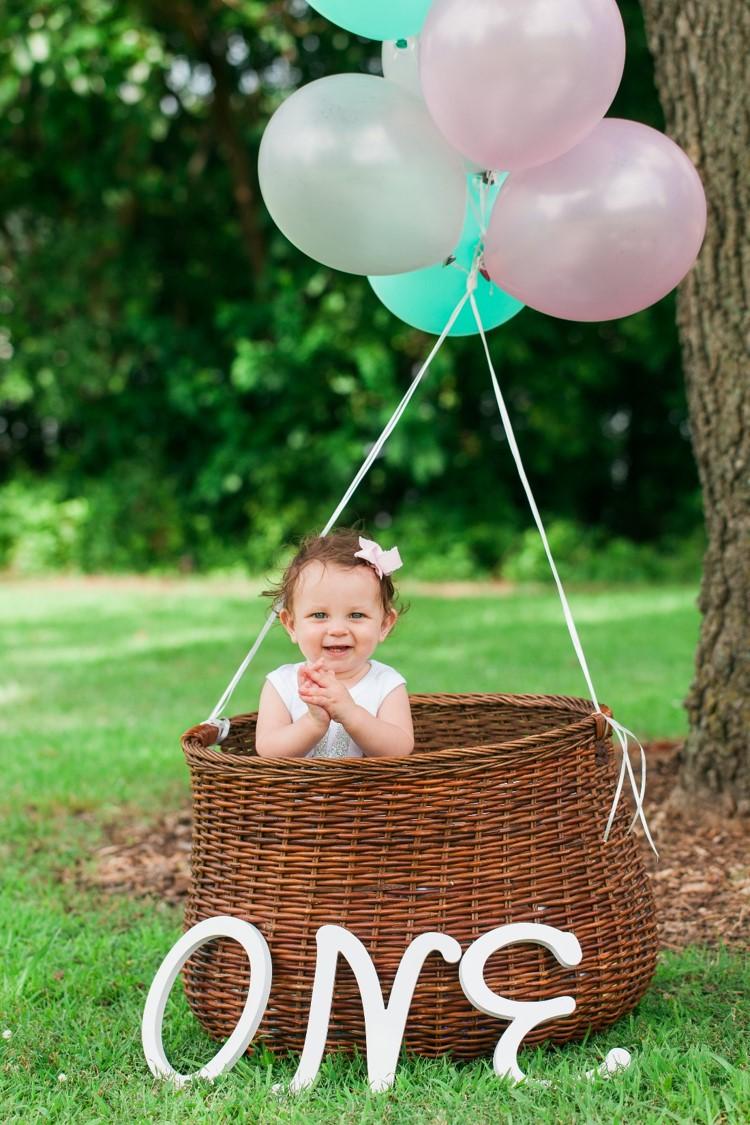 Hot Air Balloon 1st Birthday Party