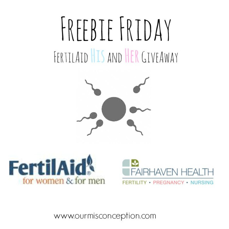 Freebie Friday, FertilAid Giveaway