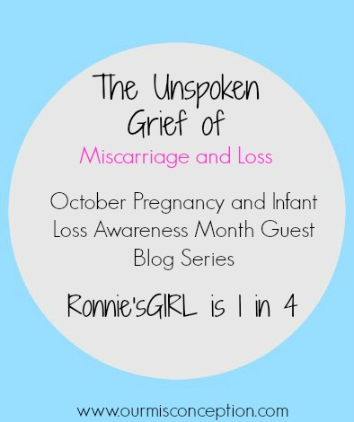 Ronnies Girl's Story-Pregnancy and Infant Loss Series