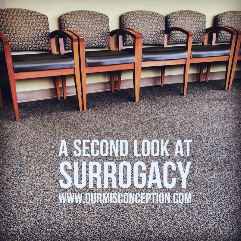 A Second Look at Surrogacy