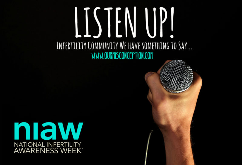 Listen Up! Infertility Community